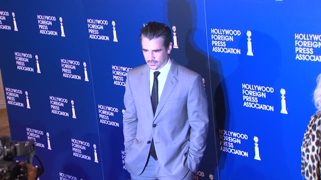 Colin Farrell at the 2013 Hollywood Foreign Press Association's Installation Luncheon in Beverly Hills 08/13/13 Colin Farrell at the 2013 Hollywood...