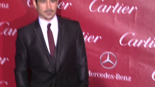colin farrell at the 25th annual palm springs international film festival awards gala presented by cartier in palm springs, ca on 1/04/14 - colin farrell stock videos & royalty-free footage