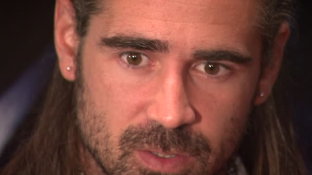 colin farrell at the 'pride and glory' new york premiere at new york ny. - colin farrell stock videos & royalty-free footage
