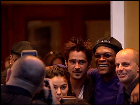 colin farrell at the 'swat' premiere on july 30, 2003. - colin farrell stock videos & royalty-free footage