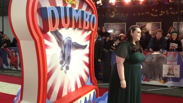 Colin Farrell Eva Green Danny DeVito and Tim Burton talk about their roles in Dumbo at the film's London premiere