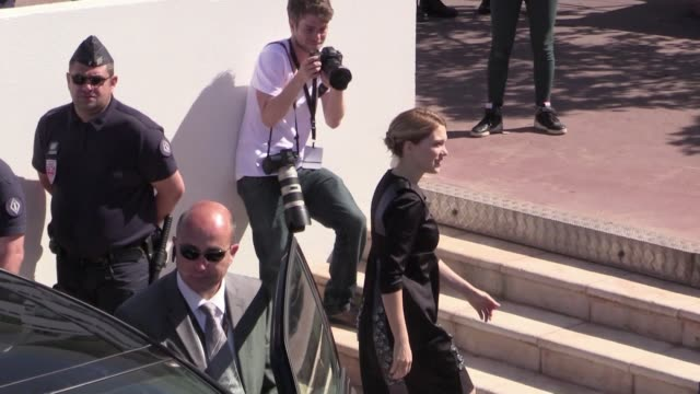 colin farrell, rachel weisz, john c reilly, lea seydoux, director yorgos lanthimos, ariane labed and ben whishaw attends the lobster photocall during... - ben whishaw stock videos & royalty-free footage