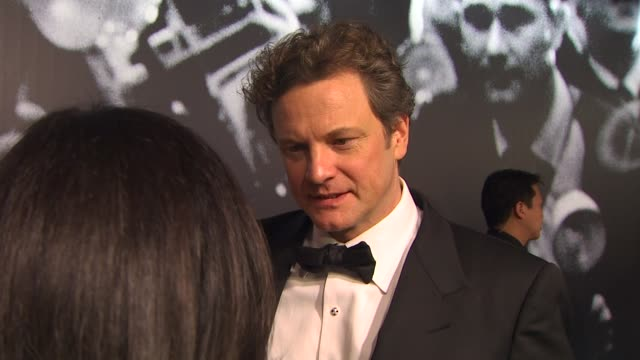 colin firth at the 2010 vanity fair oscar party hosted by graydon carter at west hollywood ca - graydon carter stock videos and b-roll footage
