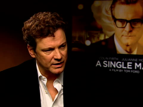 Colin Firth on how knowing the film is coming out is one of the best feelings he's ever known on how the work he's done he's taken a risk on the...