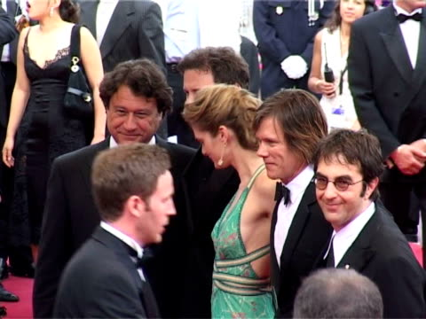 colin firth rachel blanchard atom egoyan and kevin bacon at the cannes 2005 film festival 'where the truth lies' premiere at cannes - rachel blanchard stock videos and b-roll footage