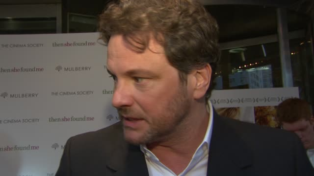 Colin Firth talks about his character in the film and what the story of the film is all about about why the story resonated with him about working...