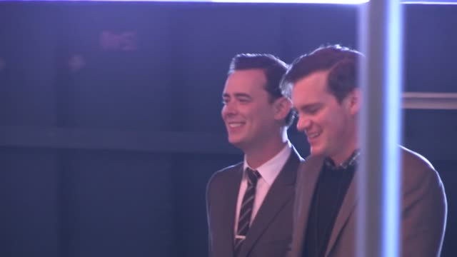 colin hanks enters the guilt trip premiere in westwood 12/11/12 - ウェストウッド地区点の映像素材/bロール