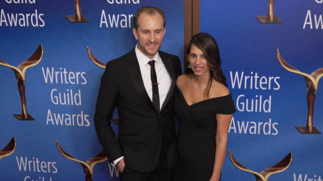 colin j louro at the 2020 writers guild awards at the beverly hilton hotel on february 01 2020 in beverly hills california - the beverly hilton hotel stock videos & royalty-free footage