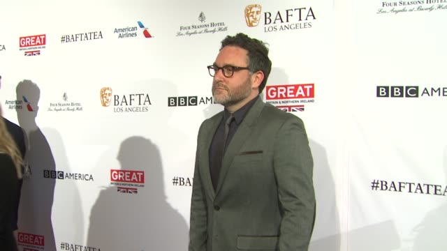 colin trevorrow at the bafta los angeles awards season tea party at four seasons hotel los angeles at beverly hills on january 09 2016 in los angeles... - tea party stock videos and b-roll footage