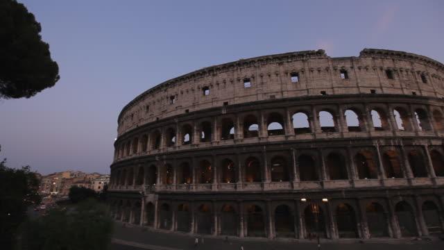 WS HA PAN Coliseum at Dusk / Rome, Italy