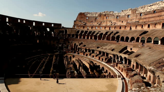 coliseum in rome - antique stock videos and b-roll footage