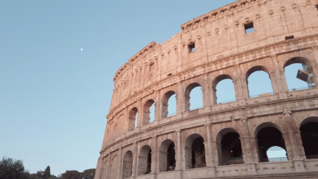 coliseum, rome, italy - famous place stock videos & royalty-free footage
