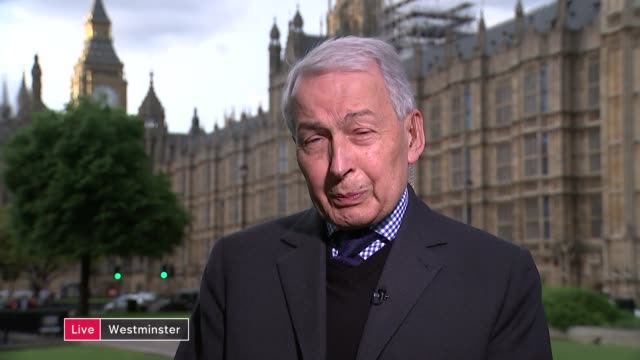 Sir Philip Green appears before MPs WALES Cardiff INT Frank Field MP LIVE interview SOT [from Westminster] re Philip Green investigation and...