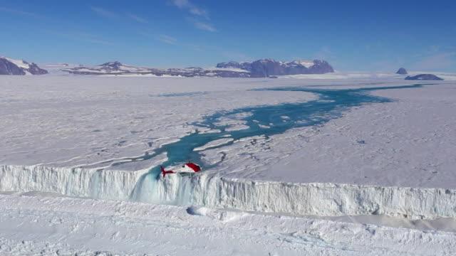 collapsed nansen ice wall and nansen waterfall - nansen fjord stock videos & royalty-free footage