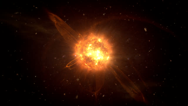 collapsing star - star space stock videos & royalty-free footage