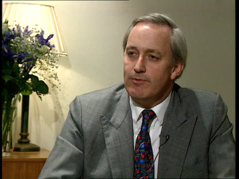 collaspe of cashforquestions case cms neil hamilton mp intvwd itn sot the conflict of interest in the legal sense does not demonstrate a rift between... - defendant stock videos and b-roll footage