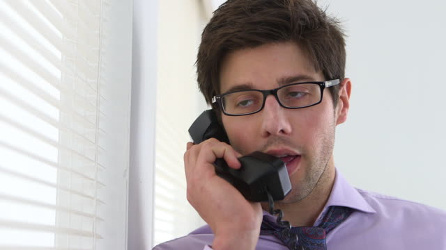 Colleague talking on the phone