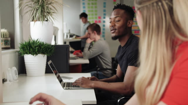 colleagues in office - 20 24 years stock videos & royalty-free footage
