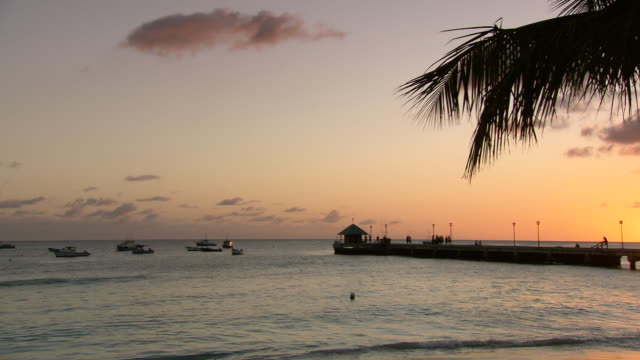 WS PAN Collection of boats on sea and the pier / Bridgetown, Saint Michael, Barbados