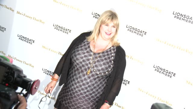 """colleen camp at the """"she's funny that way"""" los angeles premiere at harmony gold theatre on august 19, 2015 in los angeles, california. - she's funny that way点の映像素材/bロール"""