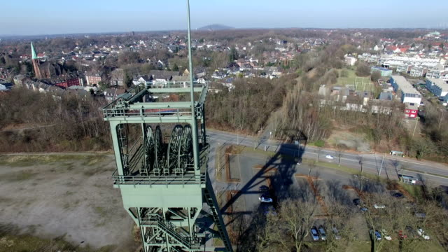 colliery oberhausen osterfel - ruhr video stock e b–roll