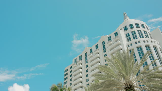 collins ave, south beach - gulf coast states stock videos & royalty-free footage