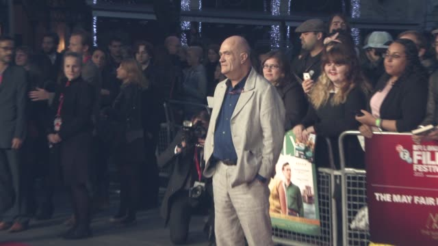 colm toibin at 'brooklyn' the mayfair hotel gala 59th bfi london film festival at odeon leicester square on october 12 2015 in london england - odeon leicester square stock videos and b-roll footage