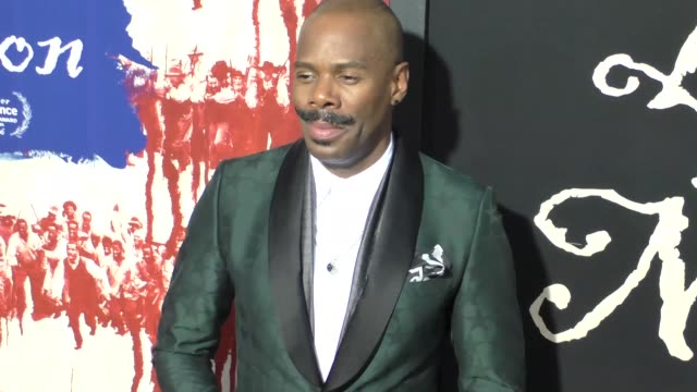 vídeos y material grabado en eventos de stock de colman domingo at the birth of a nation premiere presented by fox searchlight at arclight cinemas cinerama dome on september 21 2016 in hollywood... - cinerama dome hollywood