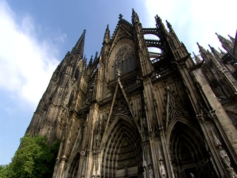 la, cologne cathedral, cologne, germany - catholicism stock videos & royalty-free footage