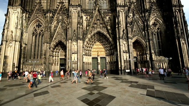 cologne cathedral - cathedral stock videos and b-roll footage