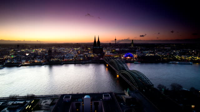 TIME LAPSE: Cologne City Germany