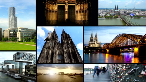 cologne - montage - brain stem stock videos & royalty-free footage
