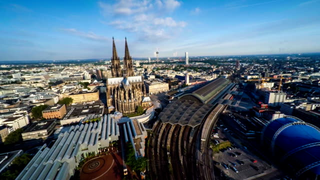 Antenne: Köln, Deutschland