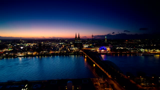 time lapse: cologne - panoramic stock videos & royalty-free footage