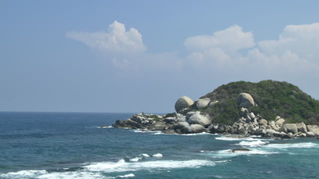 colombia beach - tayrona national park stock videos and b-roll footage