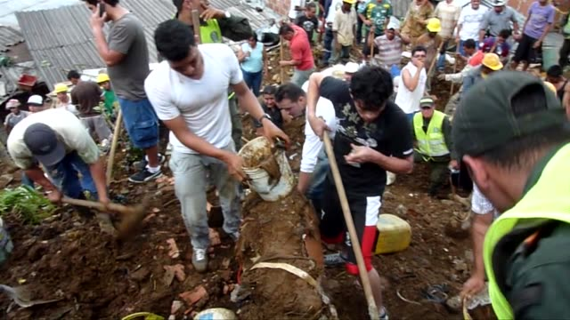 colombia faces its worst natural disaster on record due to the effects of relentless heavy rain that has been pounding most of colombia this year,... - juan manuel santos stock videos & royalty-free footage