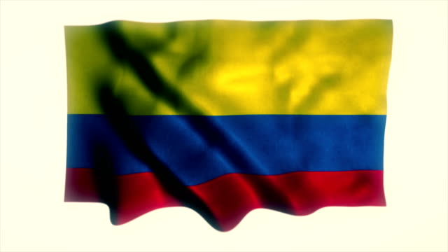 colombia flag - intricacy stock videos & royalty-free footage