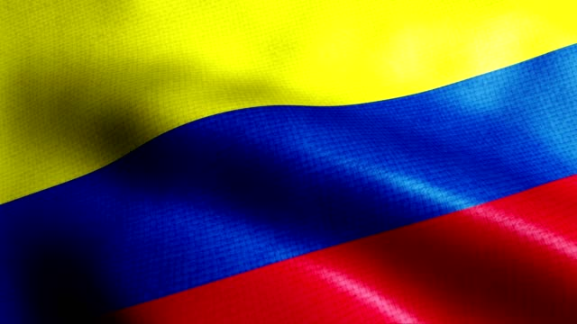 colombia flag - colombian flag stock videos and b-roll footage