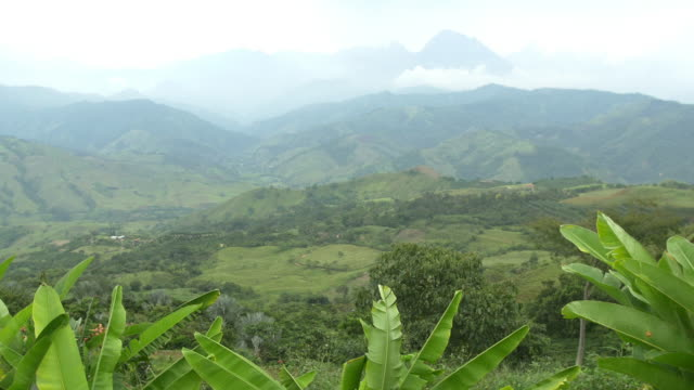 colombia landscape - colombia stock videos and b-roll footage