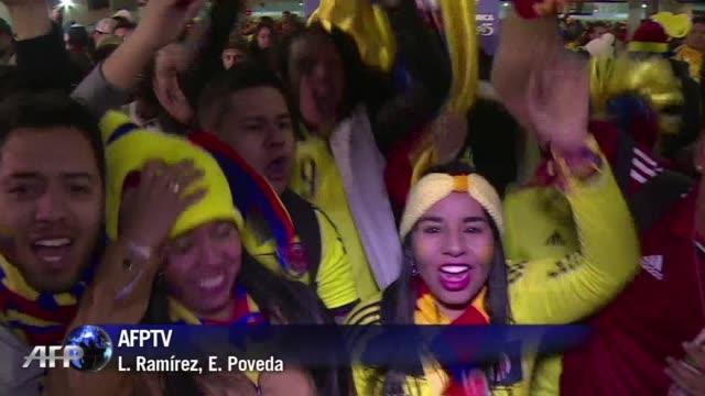 Colombia se recupera de su debut en la Copa America de Chile 2015 al vencer 10 a Brasil este miercoles y sus hinchas no dudaron en celebrarlo
