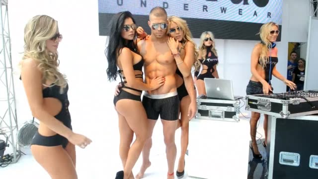 colombiamoda is the country's biggest fashion show it's been running since 1990 and has featured big name international designers like oscar de la... - underwear stock videos & royalty-free footage