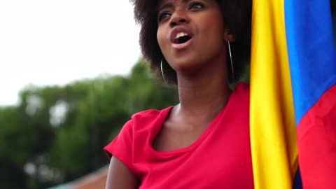 colombian fan watching a soccer game - colombia stock videos & royalty-free footage