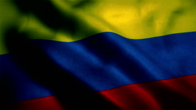 colombian flag, colombia flag - colombian flag stock videos and b-roll footage