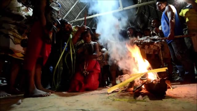 A Colombian jungle community hosts a summit bringing together 26 indigenous peoples from the region to discuss how to save their culture and territory