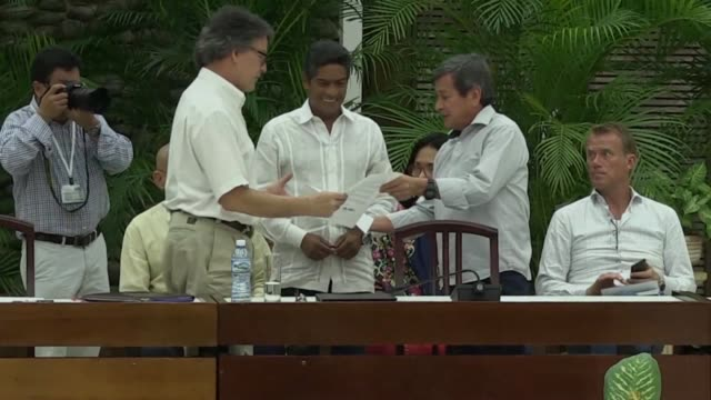 Colombian President Ivan Duque ended the peace process with ELN in Cuba after an attack attributed to that guerilla killed 21 people in Bogota