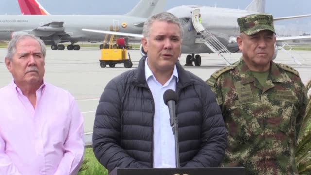 Colombian President Ivan Duque requests the Cuban government to extradite peace negotiators from the National Liberation Army after the guerrilla...