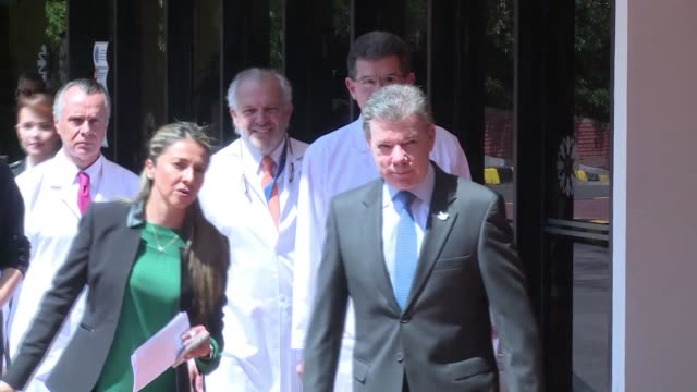 colombian president juan manuel santos announced monday that the medical tests carried out in the last days ruled out metastasis or the presence of a... - prostate stock videos and b-roll footage