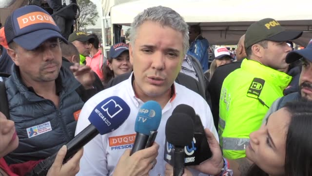 Colombian presidential candidate Ivan Duque a 41 year old lawyer favored to succeed President Juan Manuel Santos has spearheaded opposition to a...