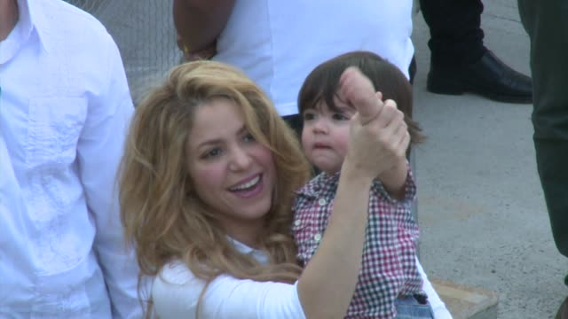Colombian singer Shakira inaugurated a new secondary school on Monday in Cartagena Colombia VOICED Pop singer Shakira opens new school in Co on...