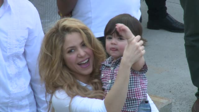 Colombian singer Shakira inaugurated a new secondary school on Monday in Cartagena Colombia CLEAN Pop singer Shakira opens new school in Col on...